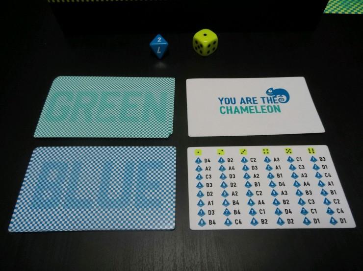 Chameleon Player Cards